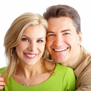 Couple after cosmetic dentistry